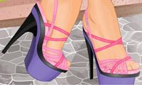 时尚美鞋小游戏