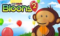 小猴子射气球