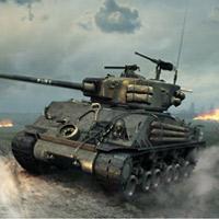 快来驾驶坦克消灭敌人!